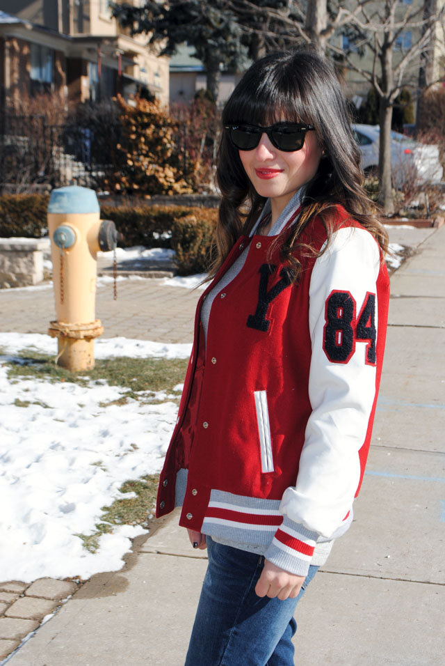 Varsity jacket | styleadeux